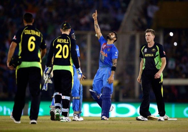 India v Australia, WT20 2016